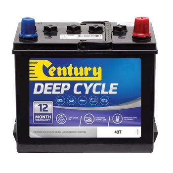 Battery Yard 24/7 batteries sydney | Century 43T 12V 40Ah ...